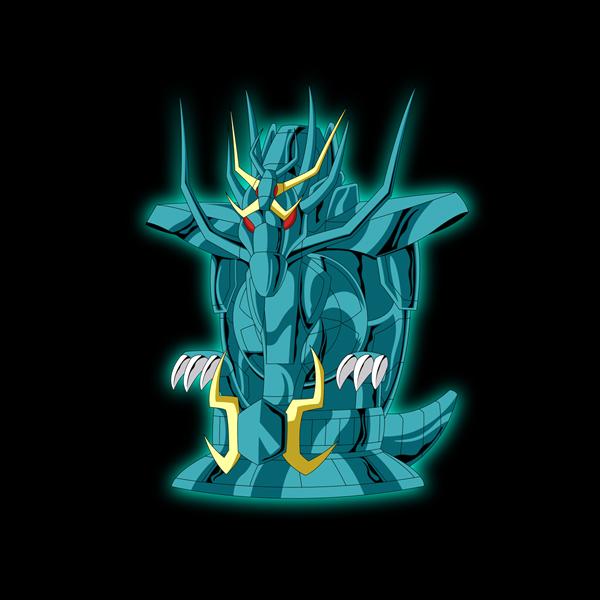 Armadura de Dragão Ab202-dragon